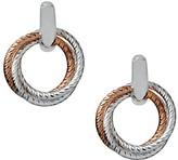 Links of London Aurora Cluster Link Stud Drop Earrings