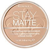 Rimmel Stay Matte Pressed Powder, Natural, 0.49 Fluid Ounce