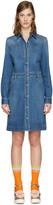 Stella McCartney Blue Denim Shirt Dress