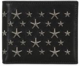 Jimmy Choo Stars Studs Leather Wallet
