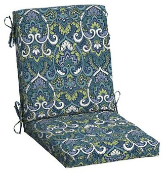 """Bungalow Rose Garden Delight Outdoor Seat/Back Cushion Size: 3.5"""" H x 20"""" W x 20"""" D"""