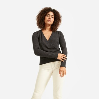 Everlane The Cashmere Wrap Sweater
