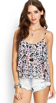 Forever 21 Floral Chiffon Cami