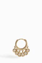 Jacquie Aiche Mini Diamond Shaker Hoop Earring
