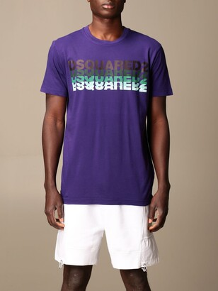 DSQUARED2 T-shirt With Printed Logo
