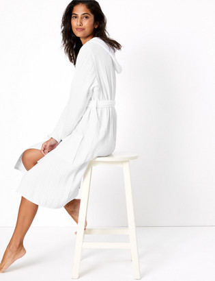 Marks and Spencer Pure Cotton Muslin Dressing Gown