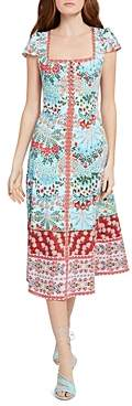 Alice + Olivia Estrella Square Neck Dress