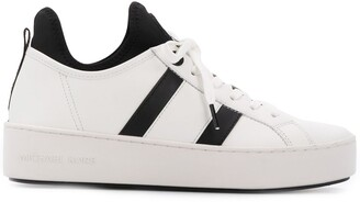MICHAEL Michael Kors Round Toe Side Stripe Sneakers