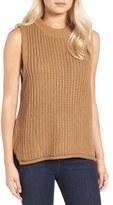 J.o.a. Rib Knit Sleeveless Sweater