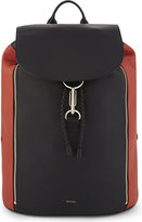Paul Smith Accessories Two-tone Leather Backpack