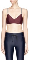 The Upside 'Fraise Ballet' sports bra