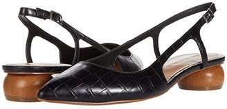 Who What Wear Eden (Black Croco) Women's Shoes