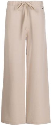 Fay wide-leg lounge trousers