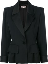 Saint Laurent Pre Owned structured jacket