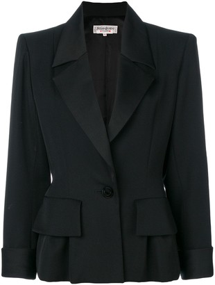 Saint Laurent Pre-Owned structured jacket