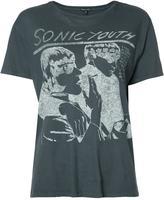 R 13 Sonic Youth T-shirt - women - Cotton/Cashmere - M