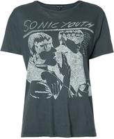 R 13 Sonic Youth T-shirt - women - Cotton/Cashmere - S
