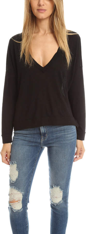 Crossley Oversized V Neck