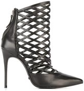 Schutz laser-cut boots - women - Leather - 37