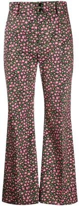 La DoubleJ Hendrix floral print trousers