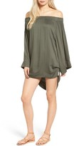 One Teaspoon Women's Boy Bowie Off The Shoulder Dress