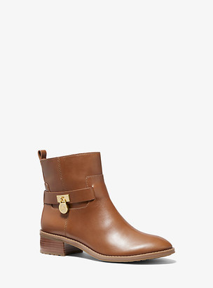 Michael Kors Ryan Leather Ankle Boot