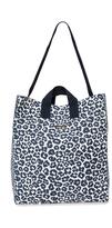Stella McCartney Leopard Print Beach Bag