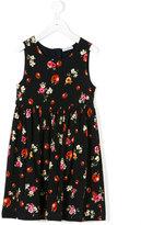 Dolce & Gabbana floral ladybug print dress