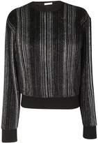 Saint Laurent Stripe Sweatshirt