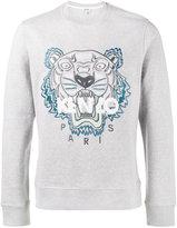 Kenzo tiger logo sweatshirt - men - Cotton - L