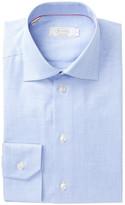 Eton Twill Contemporary Fit Dress Shirt