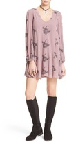 Free People Emma's Embroidered Swing Dress
