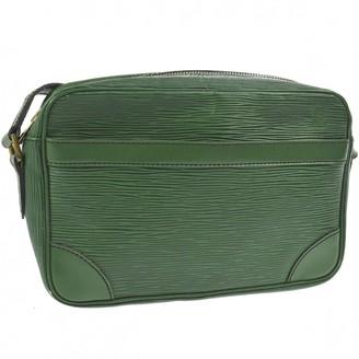 Louis Vuitton Green Leather Handbags