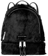 MICHAEL Michael Kors Shaved Shearling Backpack