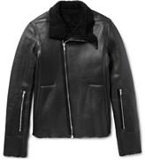 Rick Owens - Shearling Biker Jacket