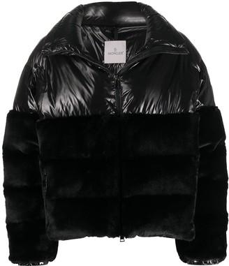 Moncler Velvet Puffer Jacket