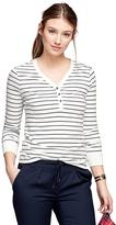 Brooks Brothers Stripe Henley Shirt