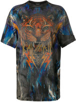 Balmain oversized graphic T-shirt