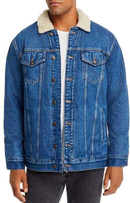 Tommy Hilfiger Sherpa-Lined Denim Jacket
