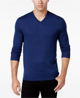 Club Room Men's Merino Blend V-Neck Sweater, Classic Fit