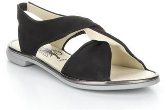 Fly London Nubuck Leather Sandals - Cabi