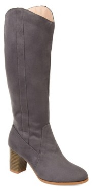Journee Collection Parrish Wide Calf Boot