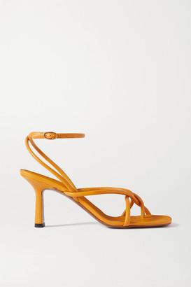 Neous Alkes Leather Sandals - Orange