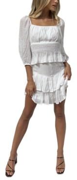 MinkPink Evelina Tiered Ruffled Skirt