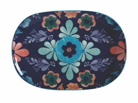 Thumbnail for your product : Maxwell & Williams Majolica Serving Platter 40 X 28 cm Blue