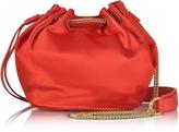Diane von Furstenberg Love Power Satin Mini Bucket Bag