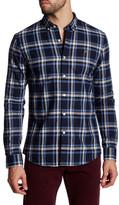 Farah Plaid Long Sleeve Slim Fit Shirt