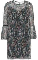 Veronica Beard Denver printed silk dress