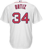 Majestic Men's David Ortiz Boston Red Sox Replica Jersey