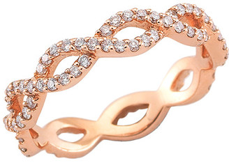 Nephora 14K Rose Gold 0.56 Ct. Tw. Diamond Wavy Eternity Ring